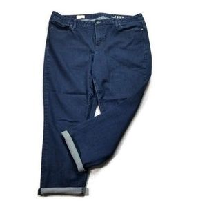 Gap Real Straight Crop Jean 34R size 18